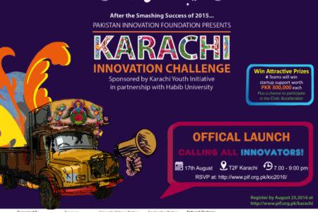 Launch Event :  Karachi Innovation Challenge