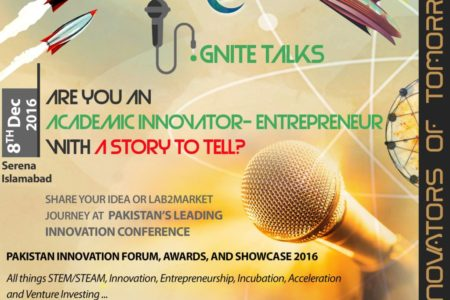 Ignite Talk – Innovators of Tomorrow